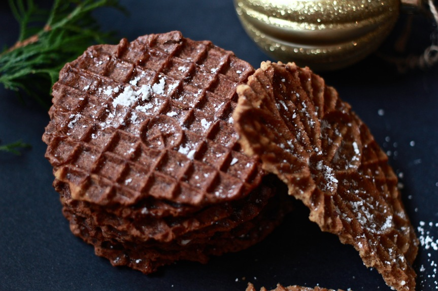 Vegan Pizzelle